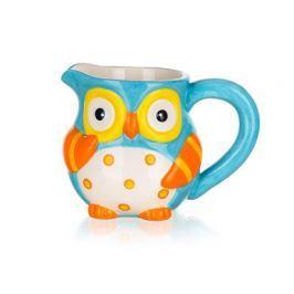BANQUET Mléčenka keramická OWL 315 ml, 13,1 x 9,1 x 9,8 cm