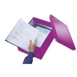LEITZ Střední univerzální krabice  Click & Store, Purpurová