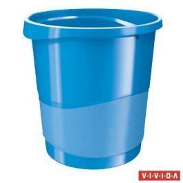 ESSELTE Odpadkový koš Europost, Vivida modrá, 14 l,