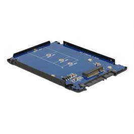 DeLock 2.5'' Converter SATA 22 Pin > M.2 NGFF with Enclosure