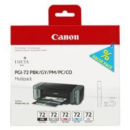 Canon multipack inkoustových náplní PGI-72 PBK/ GY/ PM/ PC/ CO