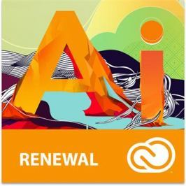 Adobe Illustrator CC MP ML (+CZ) GOV RENEWAL 1-9 (12 měsíců)