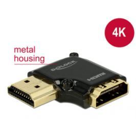 DeLock Adaptér High Speed HDMI s Ethernetem – HDMI-A samice > HDMI-A samec 4K 90