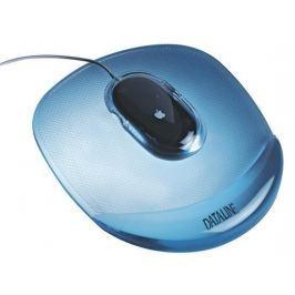ESSELTE Gelová podložka pod myš Crystal, transparentní modrá,