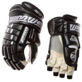 "WinnWell Hokejové rukavice  Pro-Stock JR 2012, 12"", tm. modrá"