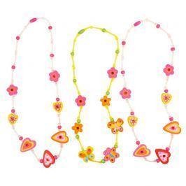 Bigjigs Toys dřevěný náhrdelník 1ks