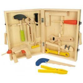 Bigjigs dřevěné hračky - Kufřík s nářadím