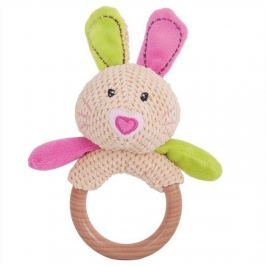 Bigjigs Toys - Chrastítko kroužek králíček Bella