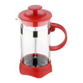 RENBERG Konvička na čaj a kávu French Press 350 ml červená