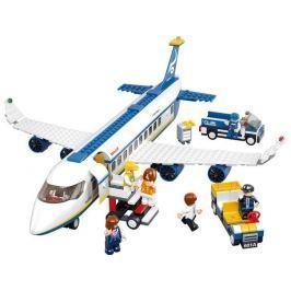 SLUBAN stavebnice Letadlo pro Přepravu Osob, 463 dílků (kompatibilní s LEGO)
