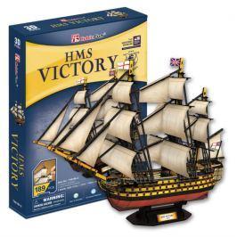 CUBICFUN 3D puzzle Plachetnice HMS Victory 189 dílků