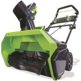 Greenworks GD40SB akumulátorová sněhová fréza 40 V s indukčním motorem