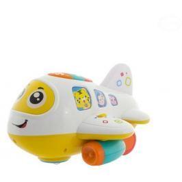 EURO BABY Multifunkční jezdící letadýlko - žluté