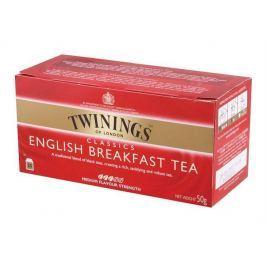TWININGS Čaj, černý, 25x2 g,  English Breakfast