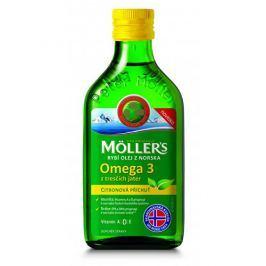 Möller´s Möller´s rybí olej Omega 3 z tresčích jater s citronovou příchutí 250 ml