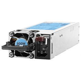 HP Enterprise HP 500W Flex Slot Platinum Hot Plug Power Supply Kit