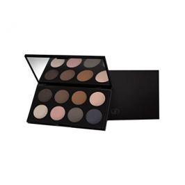 GA-DE Limitovaná paletka matných očních stínů (Basics Matte Eyeshadow Palette)