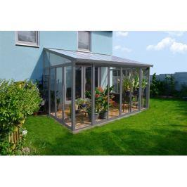 Palram Torino 3 x 4,25 šedá zimní zahrada