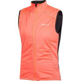 Craft Dámská vysoce zateplená vesta  PXC Storm Woman, XS, Oranžová
