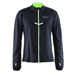 Craft Pánská běžecká bunda  Focus Race, M, Černá/zelená