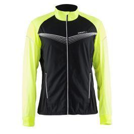 Craft Pánská běžecká bunda  Brilliant Light, L, Žlutá