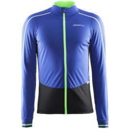Craft Pánská cyklistická bunda  Storm M, L, Modrá