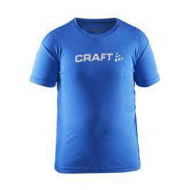 Craft Dětské funkční triko  Run Logo, 110/116, Růžová