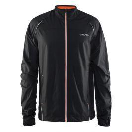 Craft Pánská funkční běžecká bunda  Prime Man, L, černo/oranžová
