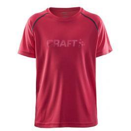 Craft Dětské tričko  Run, 110, tmavě šedá