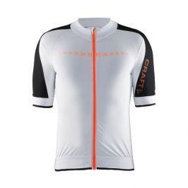 Craft Pánský dres  Aerotec M, L, bílá s oranžovou