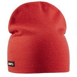 Craft Čepice  Solid Knit Red, S/M