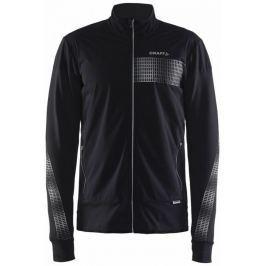 Craft Pánská běžecká bunda  Brilliant Warm M, L, Černá