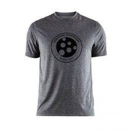 Craft Pánské tričko  Melange Graphic Grey/Black, L