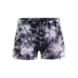 Craft Dámské kalhoty  Eaze Hot, L, černá-potisk