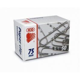 ICO Kancelářské sponky, 75 mm,