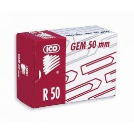 ICO Kancelářské sponky, 50 mm, , měděné