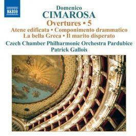 CD Cimarosa - Gallois : Overtunes 5