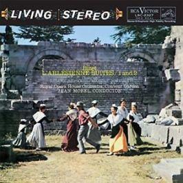 BIZET-MOREL - L'ARLESIENNE SUITES 1 & 2 LP