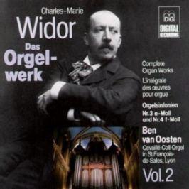 CD Widor - Van Oosten / Symf.3,4