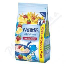 NESTLE NESTLÉ Mléčná kaše rýž-kukuřičná jahoda-banán 300g