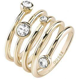 Guess Luxusní spirálovitý prsten UBR84056, 54 mm