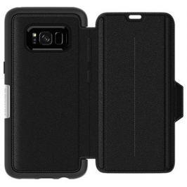 LifeProof Otterbox Strada ochranné zavírací pouzdro pro Samsung Galaxy S8+  - černé, kožen