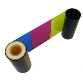 ZEBRA Páska  P330i/P430i, YMCKO, barevná barvící páska pro potisk 330ks plastovýc