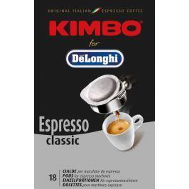 DE LONGHI Káva DeLonghi Kimbo Classic - 18ks kávových podů