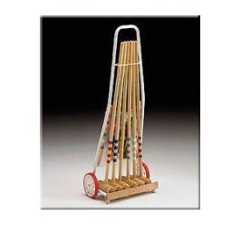 Kroket Londero 6 hráčů kovový vozík