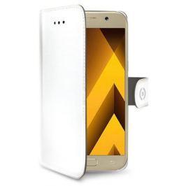 Celly Pouzdro na mobil flipové  WALLY pro Samsung Galaxy A5 (2017) - bílé