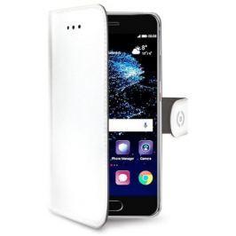 Celly Pouzdro na mobil flipové  Wally pro Huawei P10 - bílé