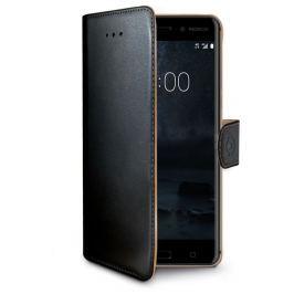 Celly Pouzdro typu kniha Wallet Nokia 6, černé