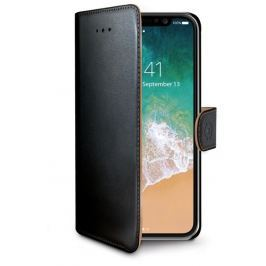 Celly Pouzdro typu kniha Wallet iPhone X, černé