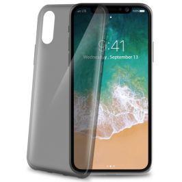 Celly Kryt na mobil  Ultrathin pro Apple iPhone X - černý